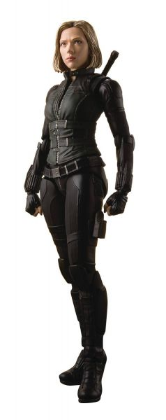 AVENGERS INFINITY WAR BLACK WIDOW S.H.FIGUARTS ACTIONFIGUR