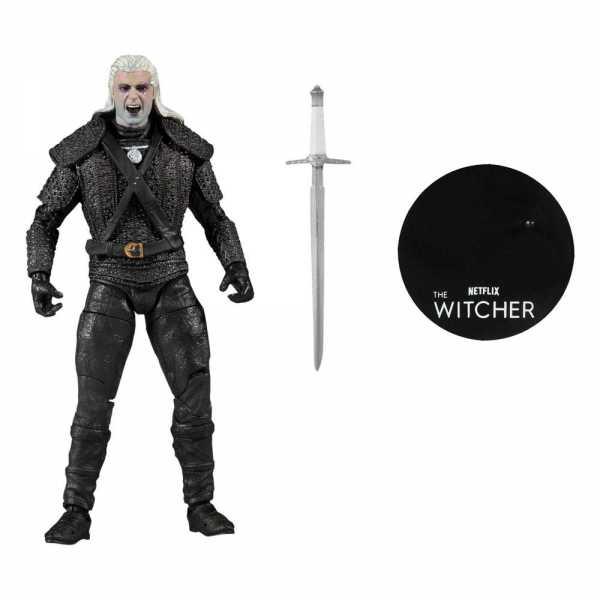 VORBESTELLUNG ! The Witcher Netflix Geralt of Rivia (Kikimora Battle) 18 cm Actionfigur