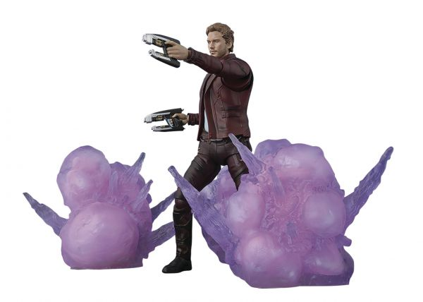 GUARDIANS OF THE GALAXY 2 STAR-LORD WITH EXPLOSION S.H.FIGUARTS ACTIONFIGUR