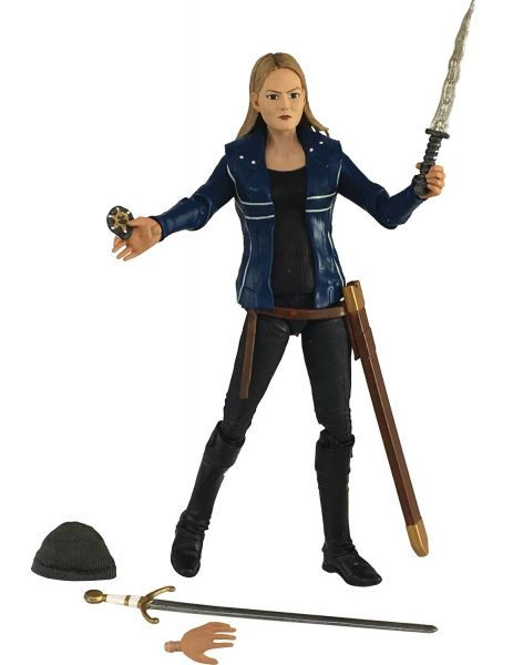 SDCC 2017 ONCE UPON A TIME EMMA SWAN BLUE JACKET ACTIONFIGUR