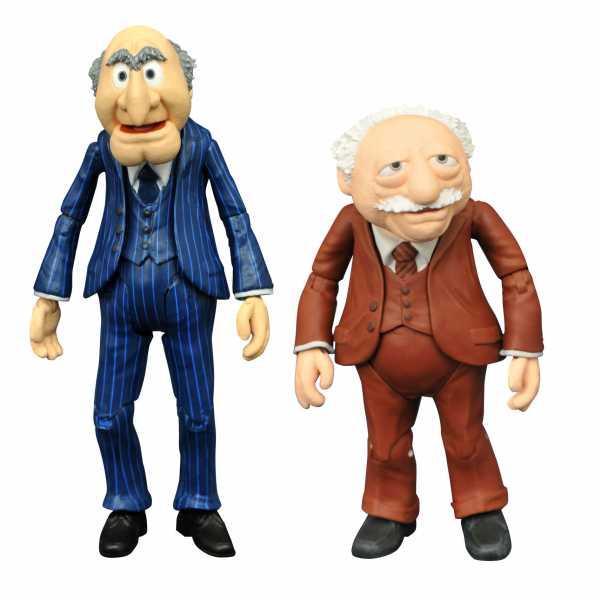 Muppets Best Of Series 2 Statler & Waldorf Actionfiguren 2-Pack