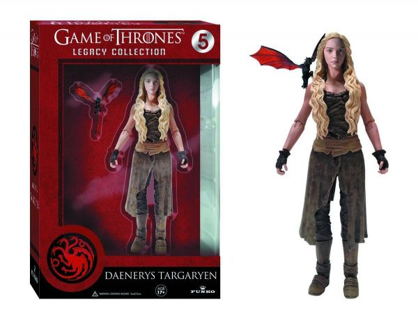 LEGACY GAME OF THRONES DAENERYS TARGARYEN ACTIONFIGUR