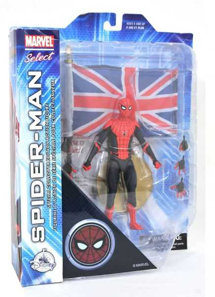 MARVEL SELECT SPIDER-MAN FAR FROM HOME DISNEY EXCLUSIVE ACTIONFIGUR