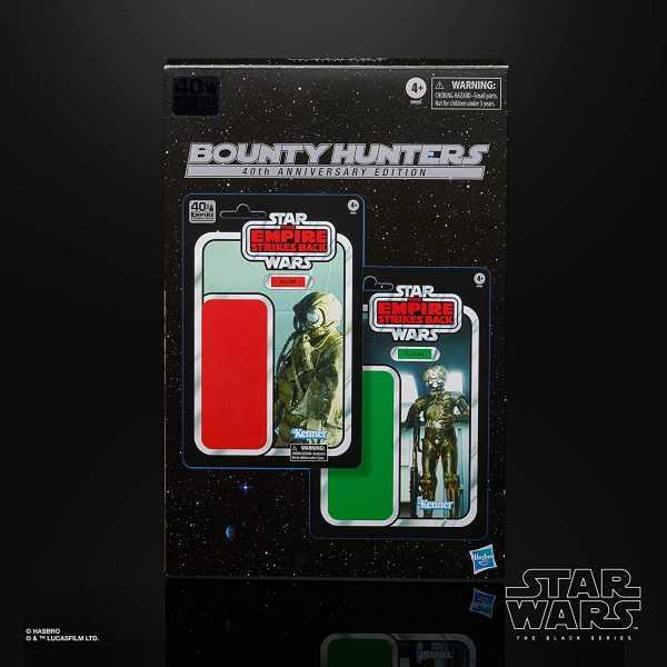 Star Wars Black Series E V 40th Ann. 4-LOM & Zuckuss Actionfiguren 2-Pack Amazon Excl
