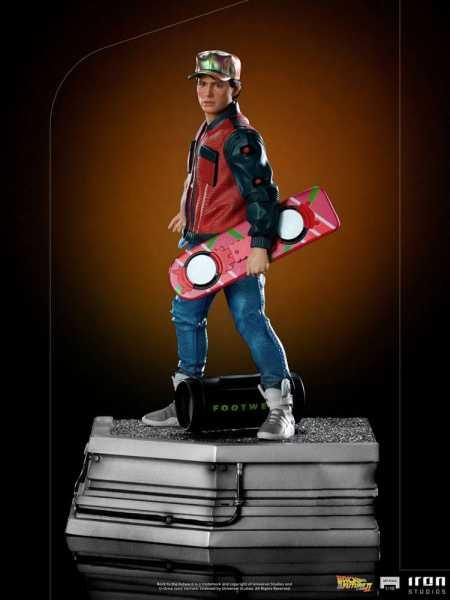 VORBESTELLUNG ! Zurück in die Zukunft II 1/10 Marty McFly 22 cm Art Scale Statue
