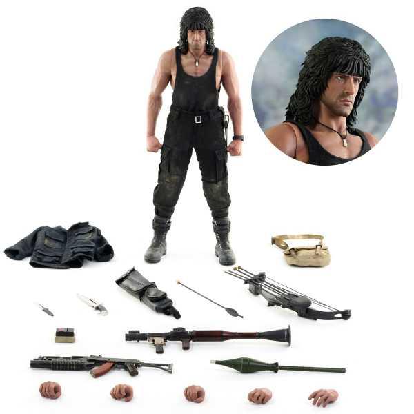 VORBESTELLUNG ! Rambo III John Rambo 1:6 Scale Actionfigur