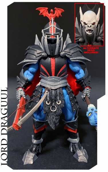 VORBESTELLUNG ! Mythic Legions All-Stars Lord Draguul 15 cm Actionfigur