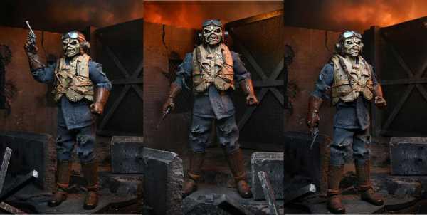 VORBESTELLUNG ! Iron Maiden Retro Aces High Eddie 20 cm Actionfigur