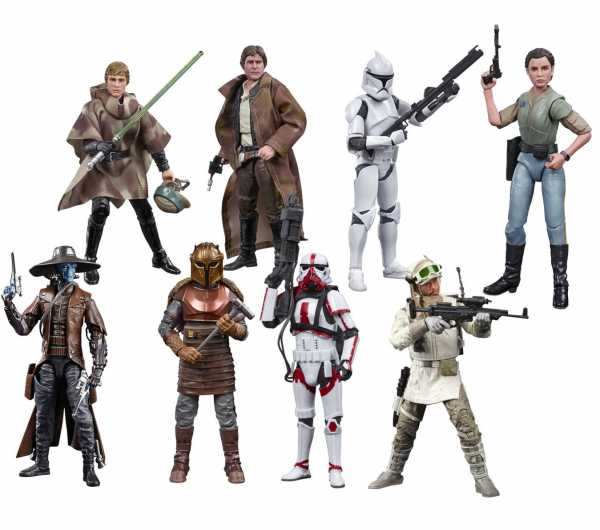 Star Wars The Black Series 2020 Wave 2 6 Inch Actionfiguren Komplett-Set
