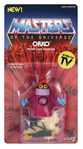 MASTERS OF THE UNIVERSE VINTAGE WAVE 3 ORKO ACTIONFIGUR defekte Verpackung