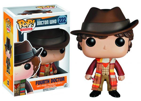 POP DOCTOR WHO FOURTH DOCTOR VINYL FIGUR defekte Verpackung