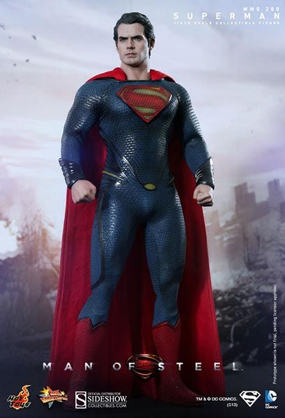 Hot Toys Man of Steel 1/6 Superman 30 cm Actionfigur