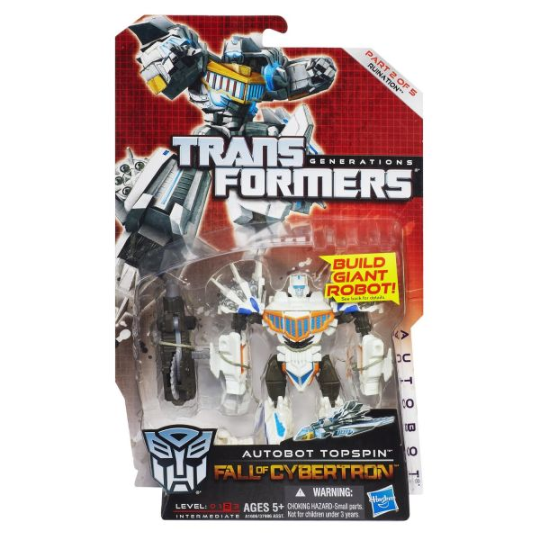 TRANSFORMERS GENERATIONS DELUXE TOPSPIN ACTIONFIGUR
