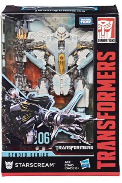 TRANSFORMERS GENERATIONS STUDIO SERIES VOYAGER CLASS STARSCREAM ACTIONFIGUR