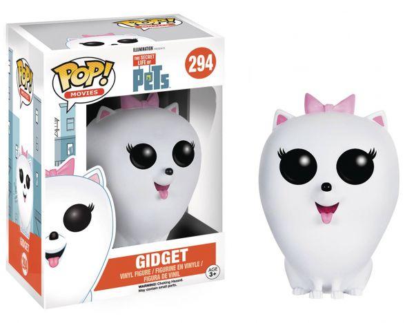 POP SECRET LIFE OF PETS GIDGET VINYL FIGUR defekte Verpackung