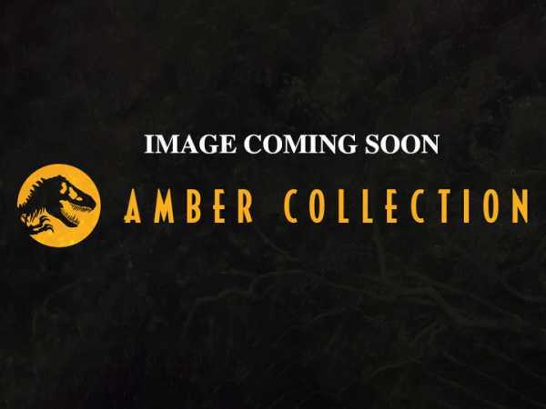 VORBESTELLUNG ! Jurassic World John Hammond Amber Collection Actionfigur