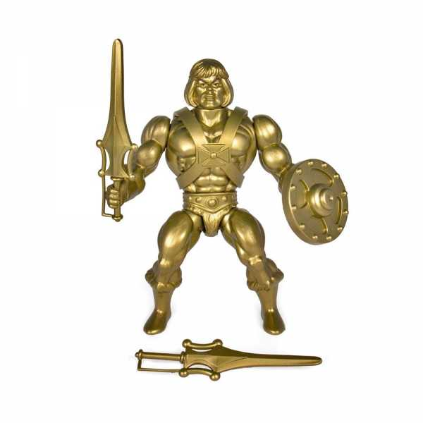 Masters of the Universe Vintage Collection Wave 3 Gold He-Man 14 cm Actionfigur