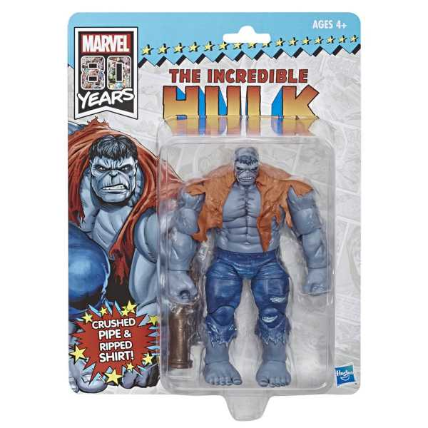 Vintage Marvel Legends Grey Hulk Actionfigur