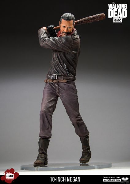 WALKING DEAD TV NEGAN 10INCH DELUXE ACTIONFIGUR
