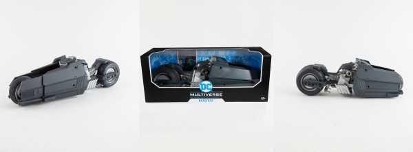 VORBESTELLUNG ! DC Multiverse White Knight Batcycle Fahrzeug
