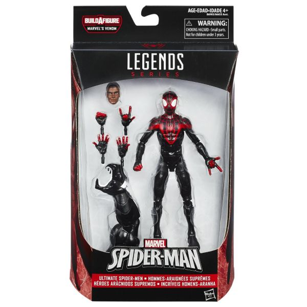 MARVEL LEGENDS SPIDER-MAN: ULTIMATE SPIDER-MAN MILES MORALES 15cm ACTIONFIGUR