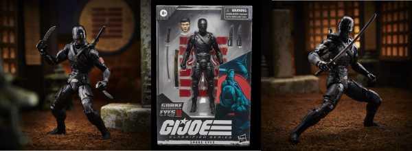 VORBESTELLUNG ! G.I. Joe Classified Series Snake Eyes G.I. Joe Snake Eyes 6 Inch Actionfigur