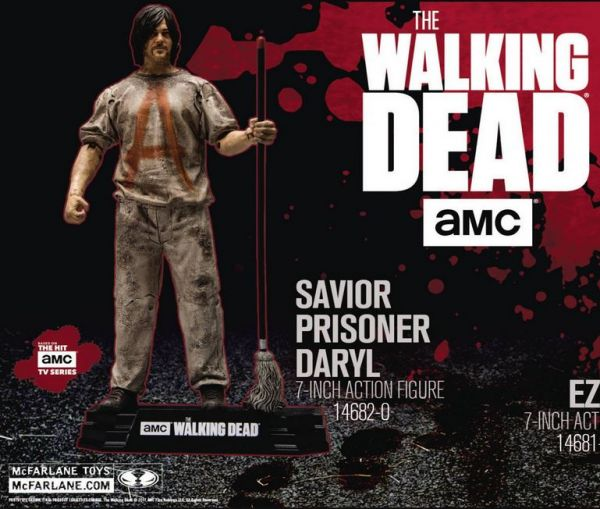 WALKING DEAD TV 2018 SERIES 1 SAVIOR PRISONER DARYL ACTIONFIGUR