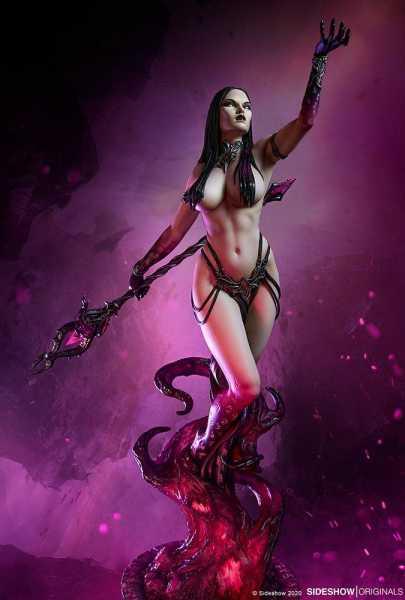 VORBESTELLUNG ! Sideshow Originals Dark Sorceress: Guardian of the Void 51 cm Statue