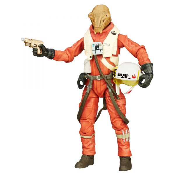 Star Wars Black Series X-Wing Pilot Asty Actionfigur