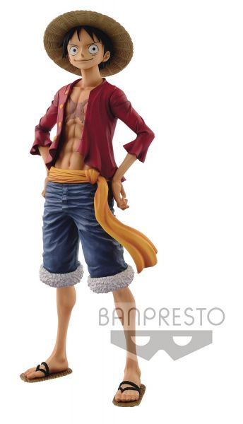 ONE PIECE GRANDISTA GRANDLINE MEN LUFFY FIGUR