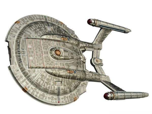 STAR TREK ENTERPRISE NX-01 SHIP REISSUE RAUMSCHIFF MIT LICHT & SOUND