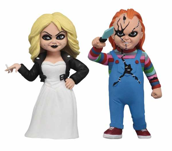 VORBESTELLUNG ! TOONY TERRORS BRIDE OF CHUCKY 6IN ACTION FIGURE 2PK