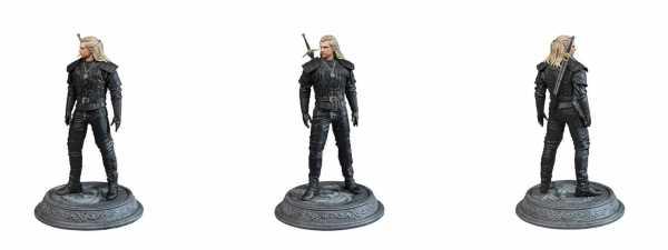 VORBESTELLUNG ! The Witcher Geralt of Rivia 22 cm PVC Statue