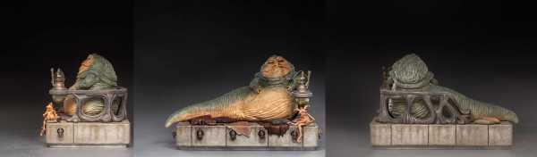 AUF ANFRAGE ! Star Wars 1/10 Jabba The Hutt 23 cm Deluxe Art Scale Statue