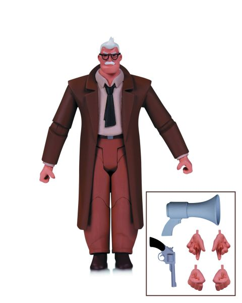 BATMAN ANIMATED BAS COMMISSIONER GORDON ACTIONFIGUR