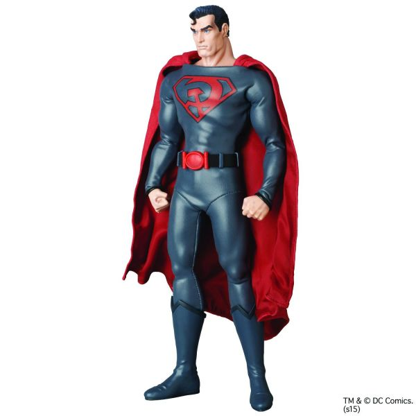 DC RED SON SUPERMAN PX RAH ACTIONFIGUR