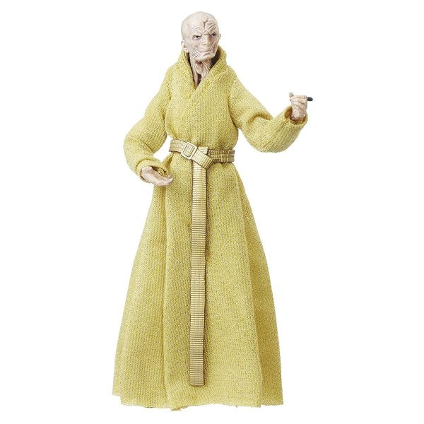 STAR WARS THE BLACK SERIES SUPREME LEADER SNOKE ACTIONFIGUR