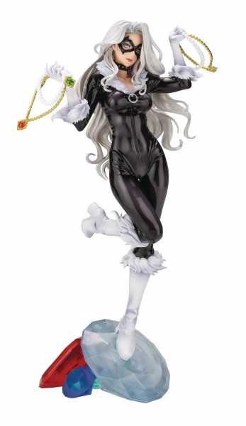 MARVEL BLACK CAT STEALS YOUR HEART BISHOUJO STATUE