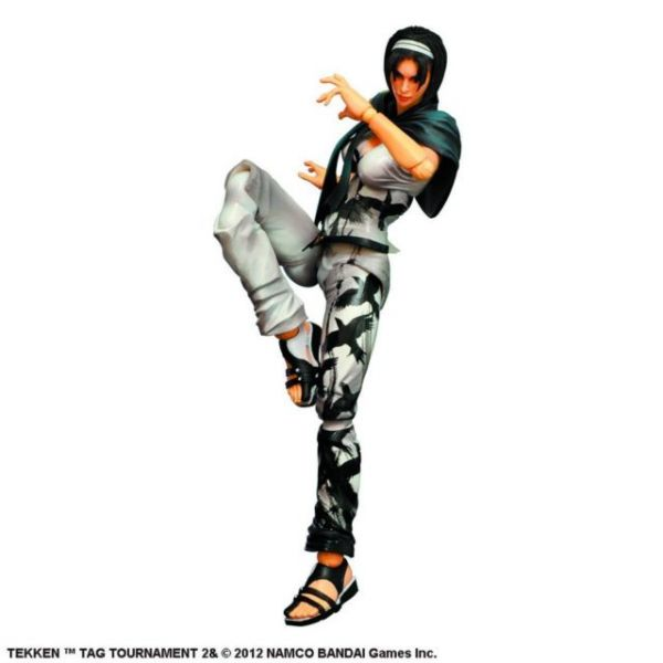 TEKKEN TT2 PLAY ARTS KAI JUN KAZAMA ACTIONFIGUR