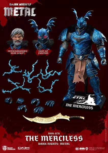 VORBESTELLUNG ! DC Comics Dark Nights Metal Dynamic 8ction Heroes 1/9 The Merciless Actionfigur