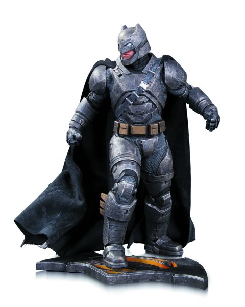 BATMAN VS SUPERMAN DAWN OF JUSTICE ARMORED BATMAN STATUE