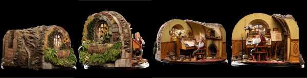 AUF ANFRAGE ! Der Herr der Ringe 1/6 Bilbo Baggins in Bag End 29 cm Statue