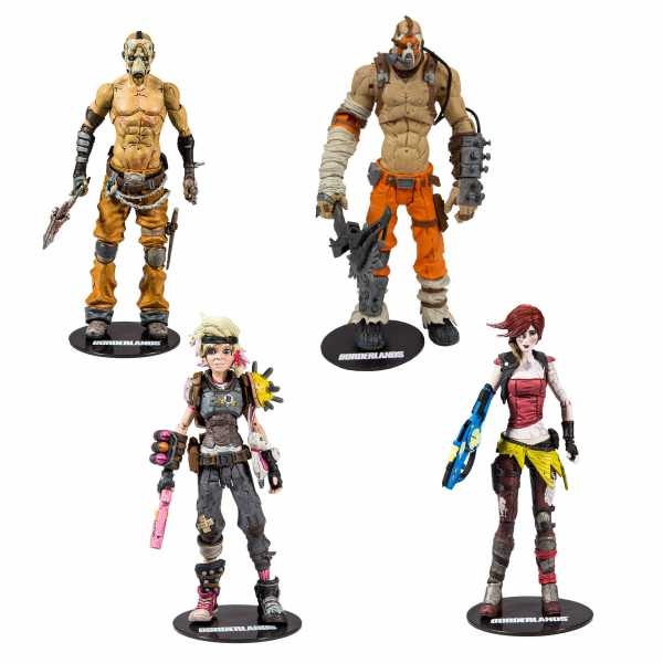 BORDERLANDS ACTIONFIGUREN-SERIE KOMPLETT