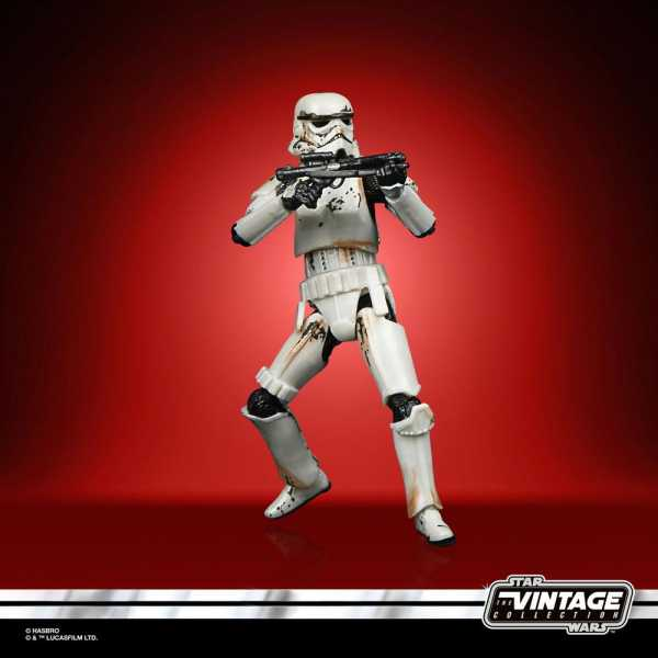 VORBESTELLUNG ! SW Mandalorian Vintage Collection Carbonized Remnant Stormtrooper 10 cm Actionfigur