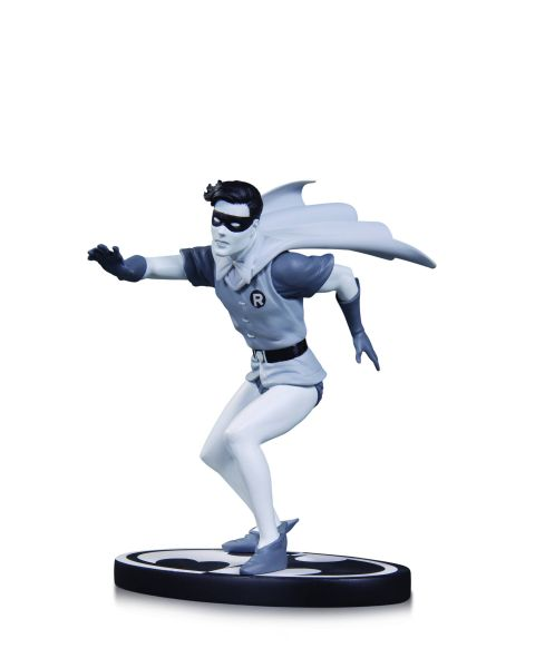 BATMAN BLACK AND WHITE STATUE ROBIN BY INFANTINO