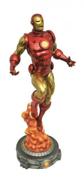 MARVEL GALLERY CLASSIC IRON MAN PVC STATUE