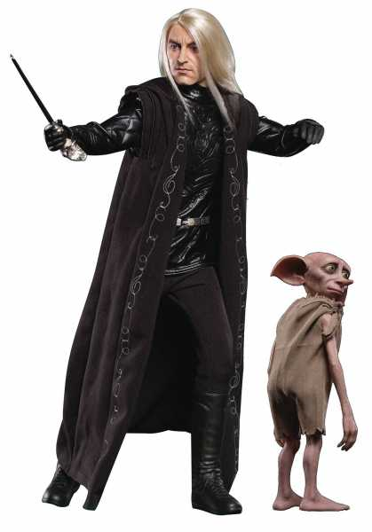 HARRY POTTER & THE GOBLET OF FIRE LUCIUS MALFOY WITH DOBBY 1/6 COLLECTIBLE ACTIONFIGUR