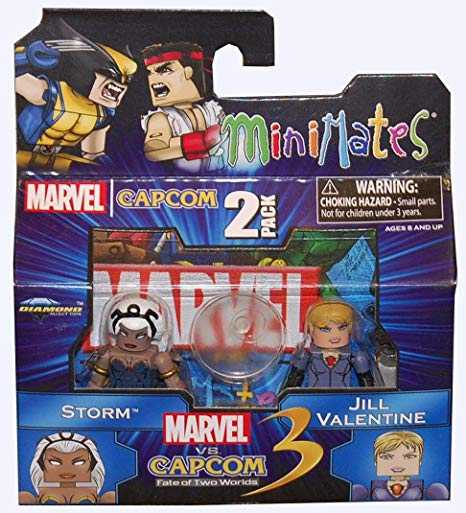 Marvel Vs. Capcom Minimates Series 2 - Storm VS Jill Valentine