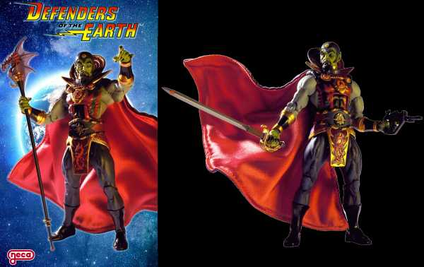 VORBESTELLUNG ! KING FEATURES DEFENDERS OF THE EARTH SERIES 1 MING THE MERCILESS ACTIONFIGUR